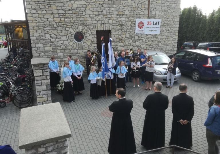Nabożeństwo Fatimskie i piknik rodzinny - Maj 2017